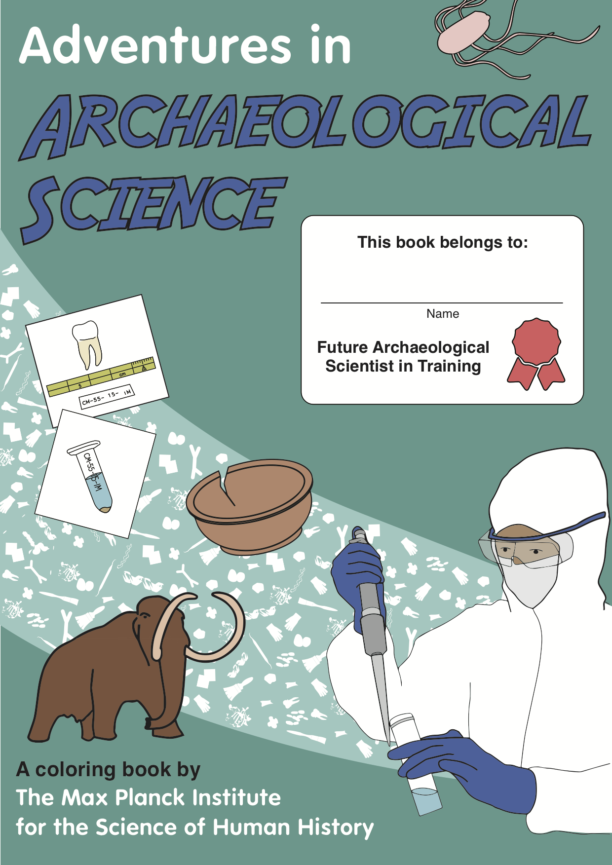 Adventures In Archaeological Science Coloring Book Now