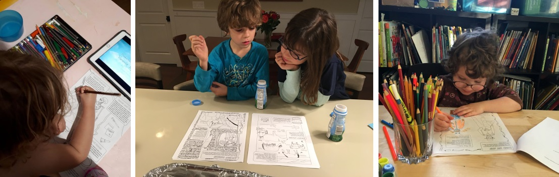 Adventures In Archaeological Science Coloring Book Featured